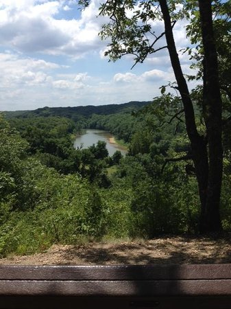 Castlewood State Park : View from the ridge