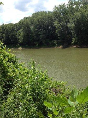 Castlewood State Park : Meramac River