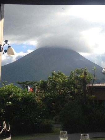 Arenal Springs Resort and Spa: View from the restaurant at the hotel