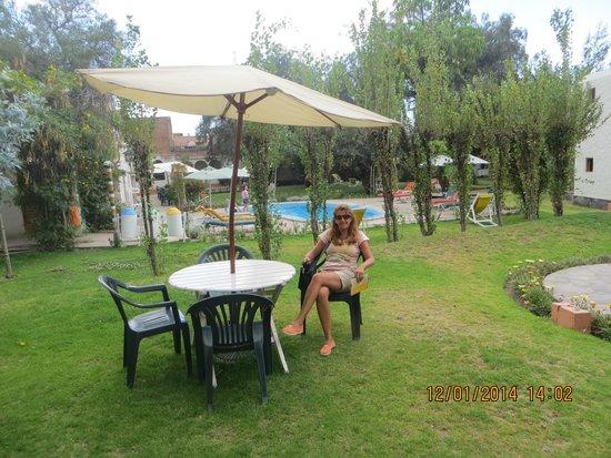 Hotel La Casa de mi Abuela : el parque