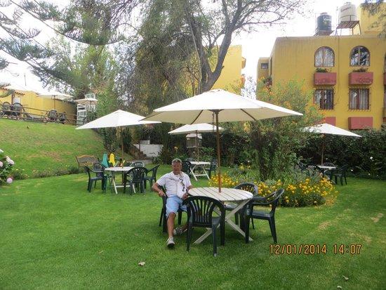 Hotel La Casa de mi Abuela : El salon desayunador