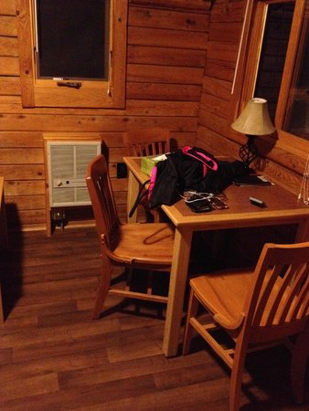 Meacham, OR: Inside of Cabin