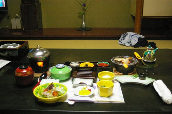 Hoshi: Breakfast served in the room