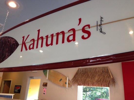 Kahuna's Burgers-N-More: Home of the volcano French fry.
