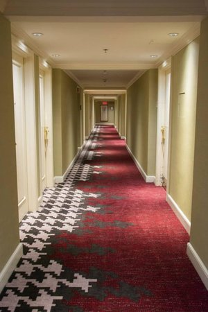Hotel Commonwealth: View of the hallway