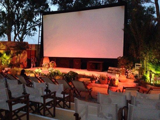 Open Air Cinema Kamari: Inside