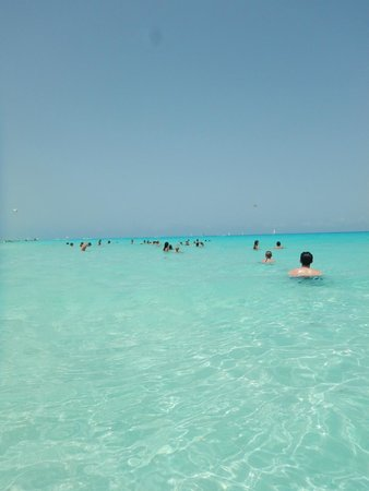 Sandos Caracol Eco Resort : Sandos playa car resort beach