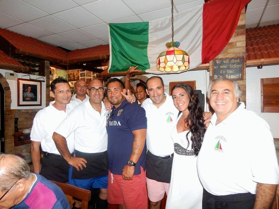 Portofino Restaurant: The excellent staff :)