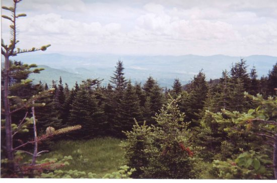 Stowe Mountain Auto Toll Road: View from top of Mount Manfield