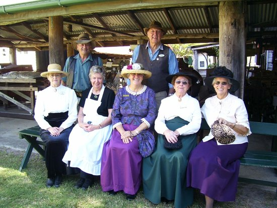 Hervey Bay Historical Village & Museum: All dressed up