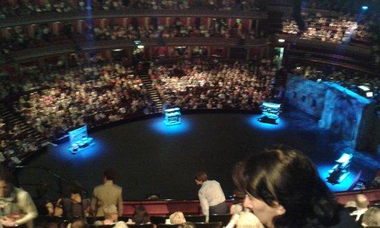 Royal Albert Hall: el escenario