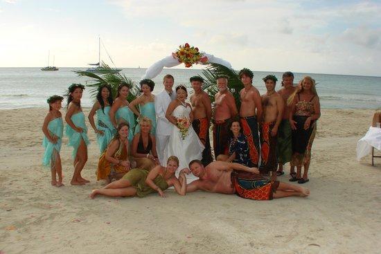 Beaches Negril Resort & Spa: Wedding Pic