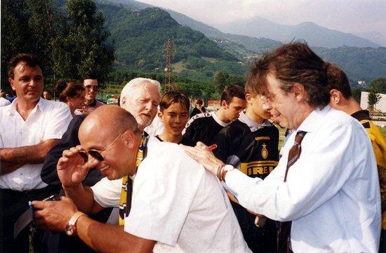 Speck Stube: Moratti Mi Autografa La Ma.......