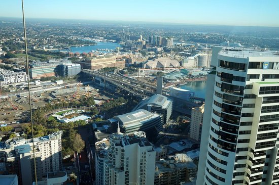 Meriton Serviced Apartments World Tower: View of Darling Harbour