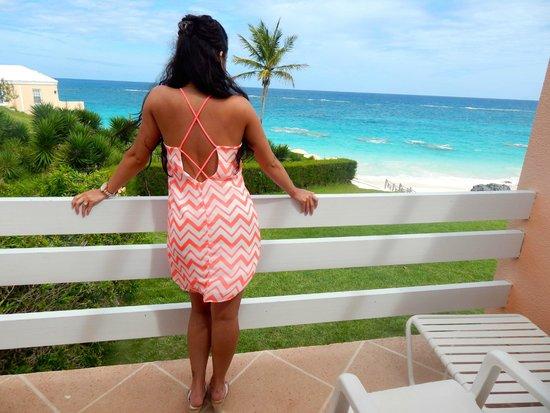 Coco Reef Resort Bermuda: Balcony View Room 211