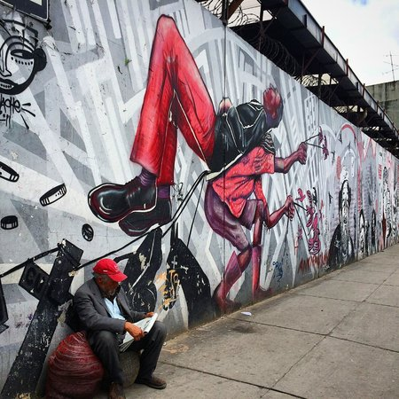 Bogota Graffiti Tour: Everything here tells a story