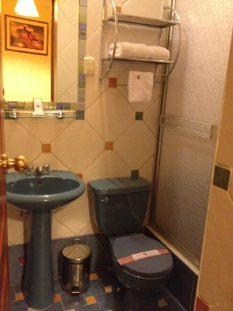 Hotel Rojas Inn: Bathroom
