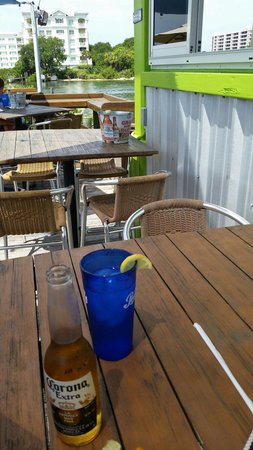 Boatyard Waterfront Bar and Grill: Waterview