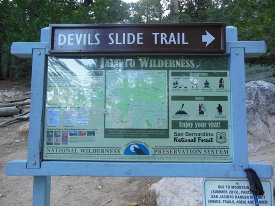 Mount San Jacinto State Park and Wilderness : Leaving Humber Park - 2.5 miles to the Saddle Junction!