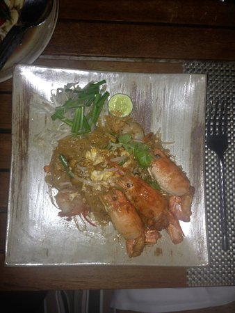 InterContinental Hua Hin Resort: Lovely Thai meal from Pirom