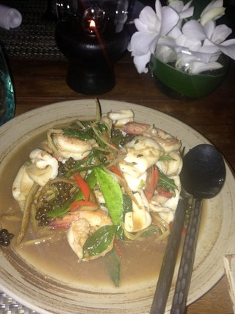 InterContinental Hua Hin Resort: Lovely Thai meal from Pirom (2)