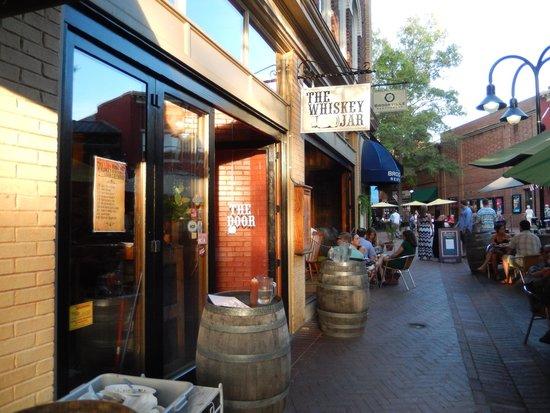 The Whiskey Jar : Outside the restaurant