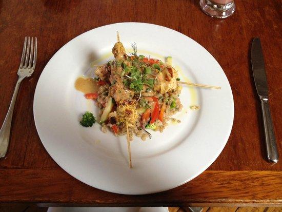 Greens Organic: Thai chicken skewers