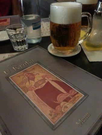 U Kroka : cool beer on a hot day