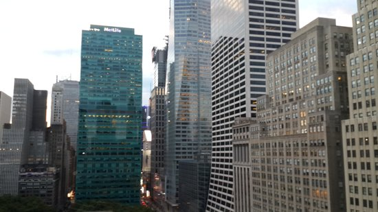 Andaz 5th Avenue: The view from our room