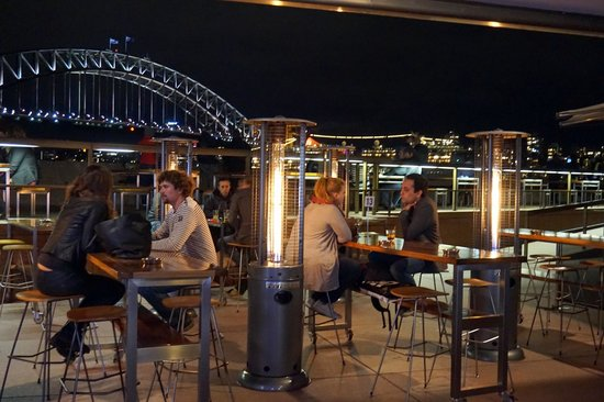 Sydney Harbour: under the opera house