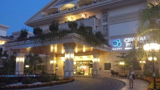 Crystal Palace Luxury Resort & Spa: entre