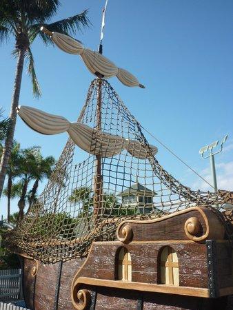 Disney's Vero Beach Resort: Water Playground- Pirate Ship