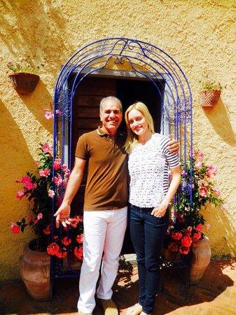 Villa Poggio di Gaville: Jamal & I