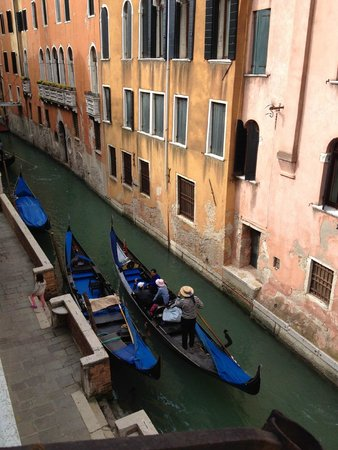 Albergo Doni: View from the window