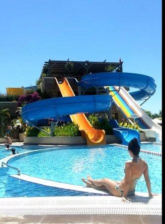 Crystal Palace Luxury Resort & Spa: Poolområdet