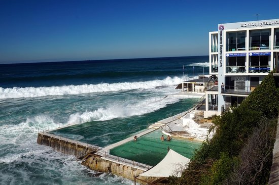 Bondi to Coogee Beach Coastal Walk : iceberg swimming pool