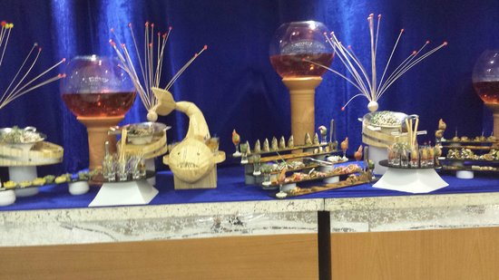 Crystal Palace Luxury Resort & Spa: Tema fisk och skaldjur
