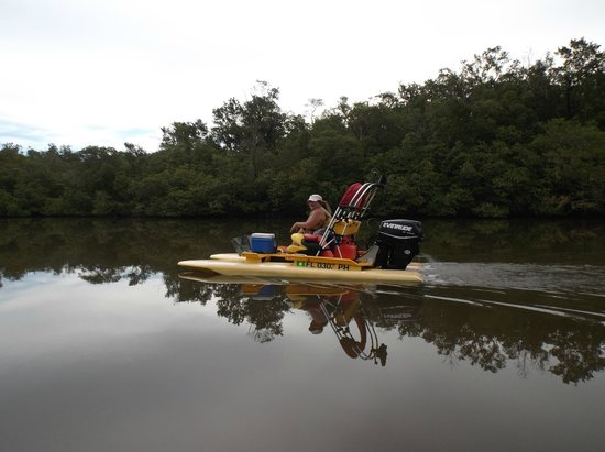 Backwater Adventure : Watercraft Vehicle for Tour