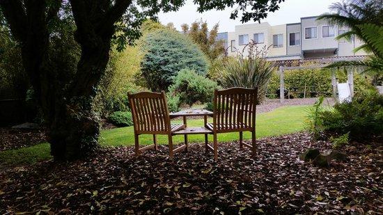 Ocean Park Motel : Garden/sitting area