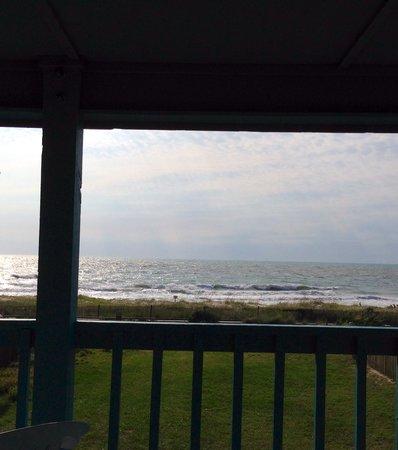 Kure Keys Motel : Balcony view