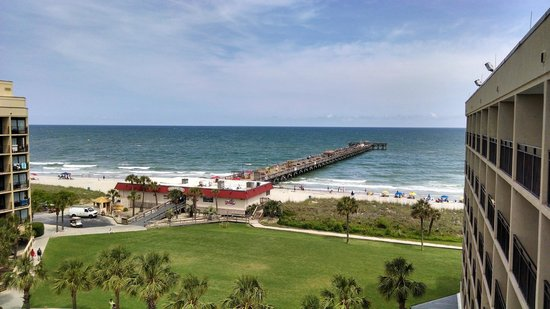 DoubleTree Resort by Hilton Myrtle Beach Oceanfront : View from balcony