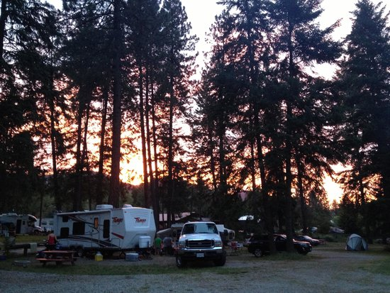 Christina Pines Campground: View