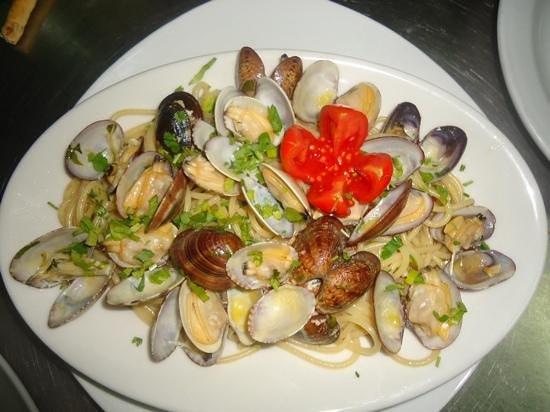 Ristorante L'Aragosta : spaghetti alle vongole ottime