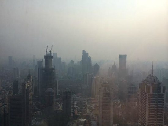 JW Marriott Hotel Shanghai at Tomorrow Square: SMOG