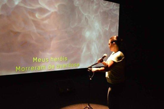 Museu da Lingua Portuguesa: A arte da canção.