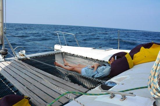 Andaman Sea Club Sailing Charters: nap time