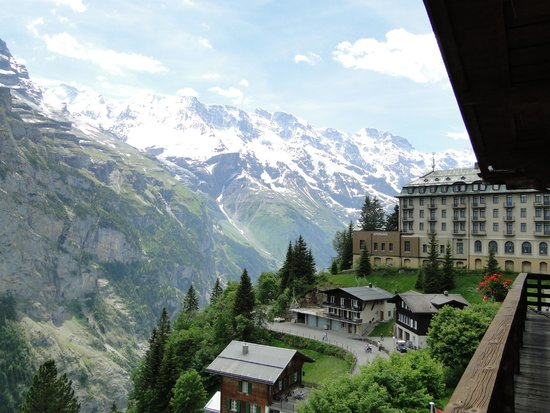 Hotel Eiger : View from our room