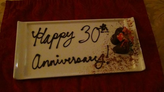 Biltmore Village Inn: Anniversary package