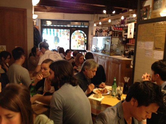 Trattoria Mario: Dining Room