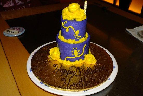 Fine Birthday Cake Picture Of Flying Fish Orlando Tripadvisor Funny Birthday Cards Online Alyptdamsfinfo
